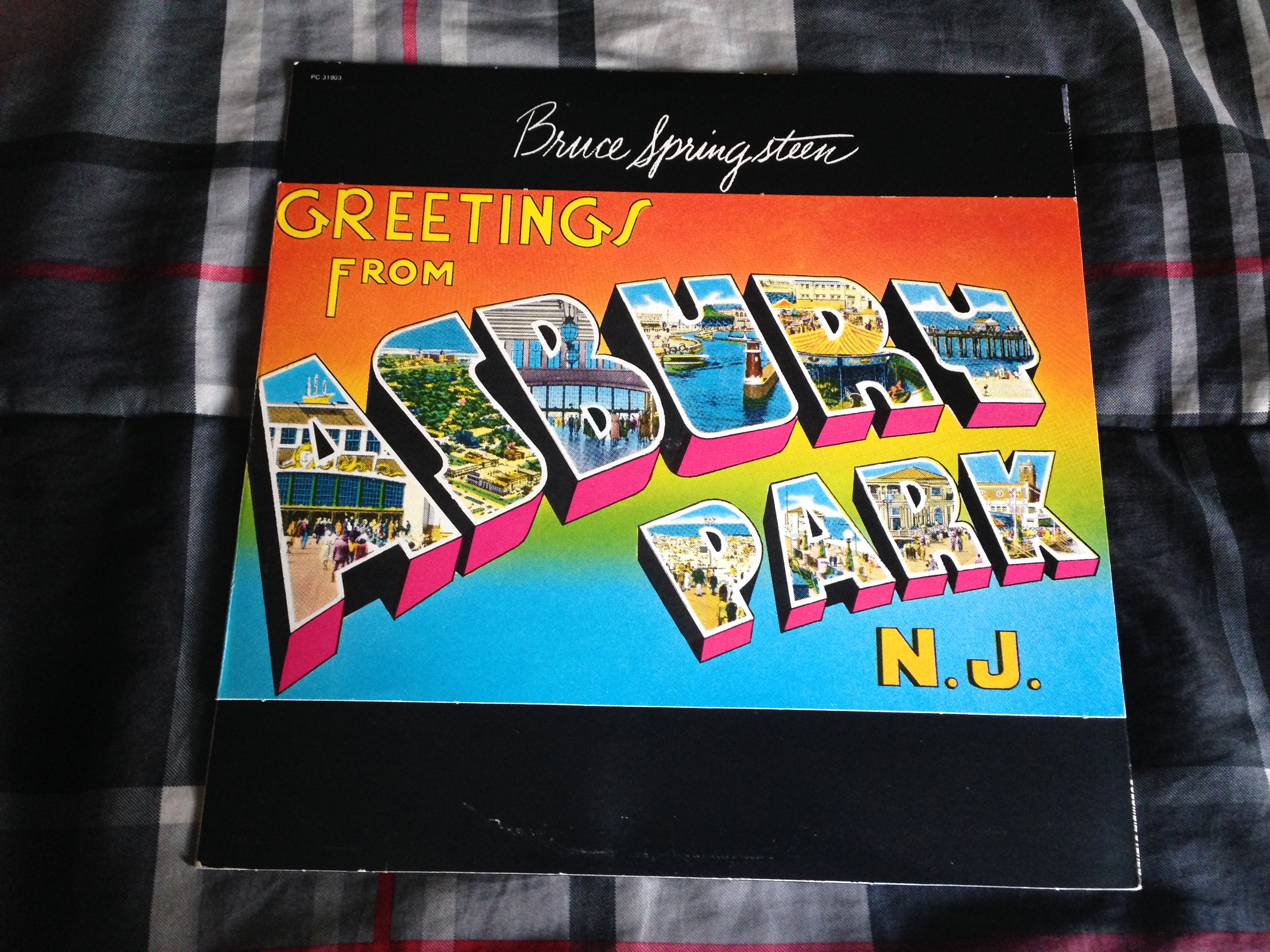 Vinyl special greetings from asbury park nj by bruce vinyl special greetings from asbury park nj by bruce springsteen m4hsunfo